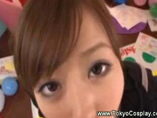 "Asian in uniform gives hot blowjob"" class=""th-mov"