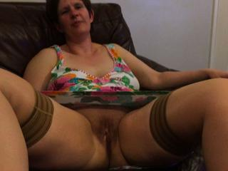 Amateur Chubby Mature Pussy Stockings Wife