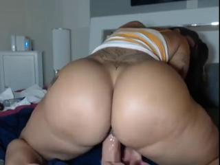 Ass Chubby Dildo Latina Masturbating  Solo Toy Webcam