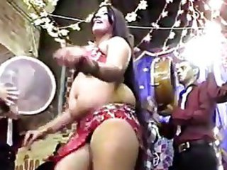 Amateur Arab Chubby Dancing  Party