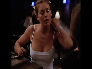 Alyssa Milano braless and hard nippel