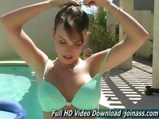 Jessica A Gorgeous, Girl The Pool Naked Pussy