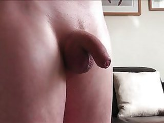 Soft weasel words foreskin play then oily fun plus huge handsfree cum