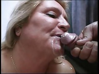 Blond mature and a Boy R20