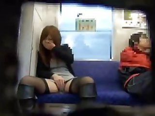 Ride On a Subway3(Open a Leg, if Cunt Feels Orgasm!)