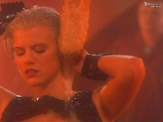 Eva Habermann - Lexx Alien Shower Scene