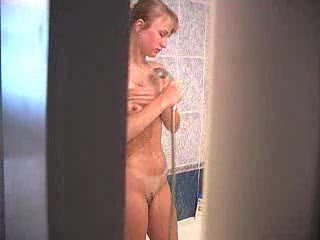Blonde Cutie Thither Shower - Hidden Cam