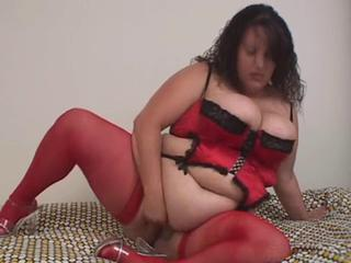 Lingerie Masturbating  Stockings