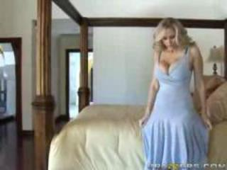 Cheating blonde has rough sex