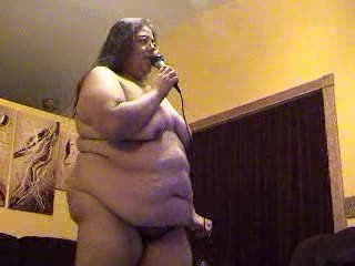 Bbwalmy Wake Me Up Before You Gogo Nude Bbw Karaoke