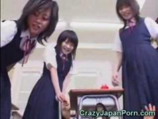Japanese Schoolgirls Funny Sex!
