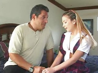 Teen Babysitter Sabrina Prick Does Daddy M27