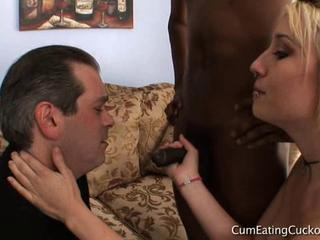 Proxy Paige Watches Her Husband Suck by forester42