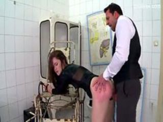 Stupid whore taught to listen as she is fucked in the...
