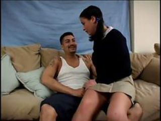Luna blanca bigtits latina schoolgirl first blowjob a...