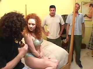 Audrey is a horny gal who fucks hard just to get a mouthful