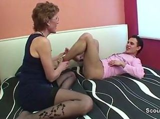 Mom with perfect body want to fuck german step-son ! _: german hardcore lingerie milfs old+young
