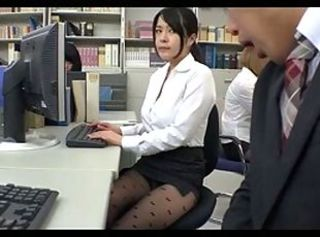 Japanese office 3 _: stockings japanese
