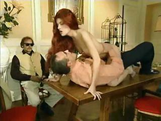 French Redhead Fovea Anal