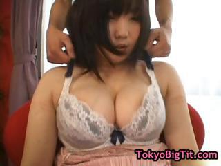 Busty Asian Babe Gets Breasts Massaged P...