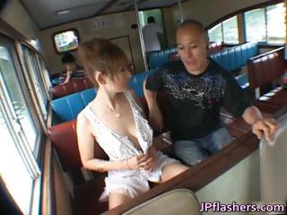 Reon Otowa Lovely Asian Doll Getting Par...