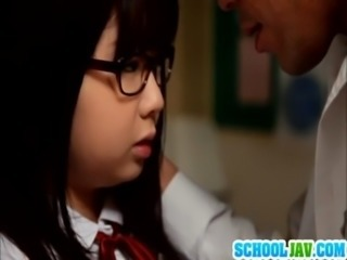 Schoolgirl Aimi in hardcore turn free