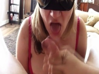 Blow Bustle with Big Cum Shot