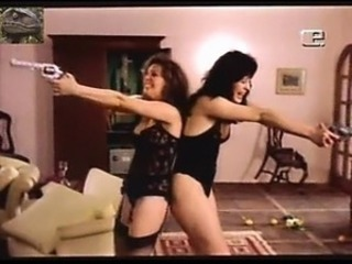 Claudia Raia and Louise Cardoso - Retro Lesbian