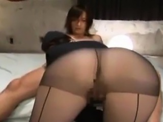 Horny Asian Babe Banging