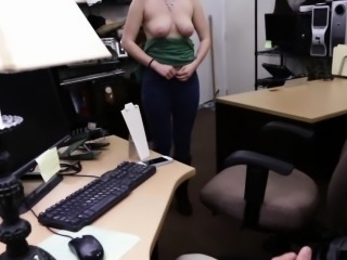 Pawnshop amateur gets tits and nuisance out be beneficial to cash
