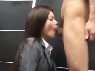 Adorable Japanese Girl Banged