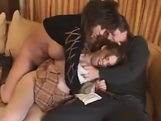 Babysitter In A Threesome With A Couple