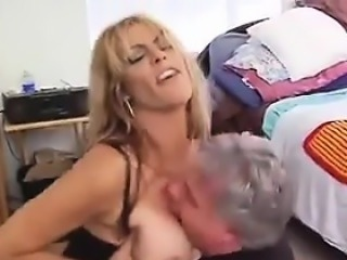 Mature Woman Abuses Her Kinky Husband
