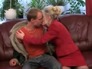 Granny loves her young boyfriend