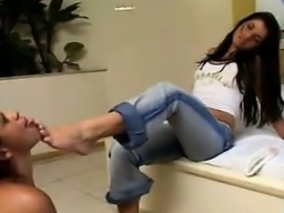 Young Brazilian Lesbians That Love Feet