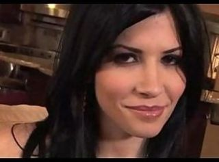 Rebeca Linares gets a creampie in the kitchen