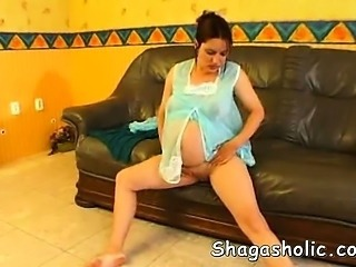 Pregnant woman gets horny - Shagash