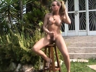Barefaced taking tranny loses control