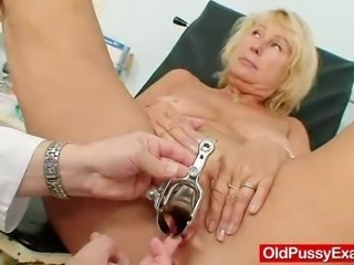 A thin blonde wifey with a bigger natural tits, she has been a widow for...