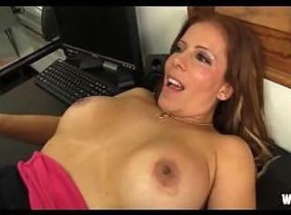 Horny Spanish MILF Boss Nicky Ferrari Pumped Like Gas