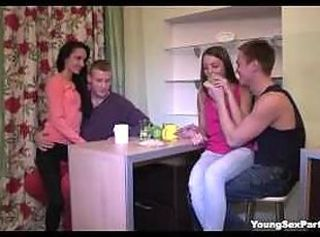 Young Sex Parties - Perfect emulate date with swinger sex
