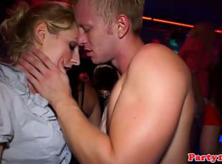 Real amateur party skanks inhaling cocks