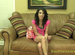 BrandNewAmateurs Violet Utilize Reel Interview close by Bared