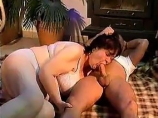 Fat German Granny Wants Some Dick In Her