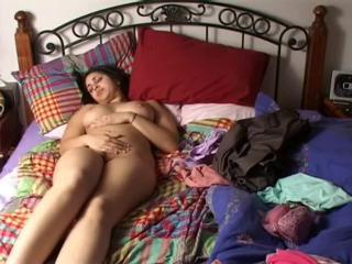 Amateur Chubby Homemade Indian Masturbating  Solo