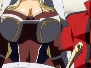 Cute 3d hentai princess gets will not hear of huge boobs teased