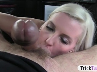 horny blonde boned by the pervert taxi driver the 2nd time