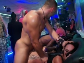 European Initiate party girls doggystyle stretche inside publich