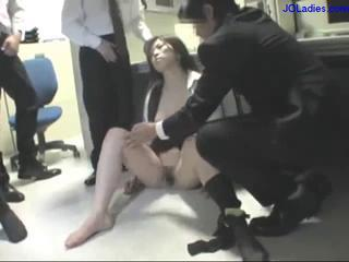Office Lady Dazzed Getting Her Mouth Fucked By..