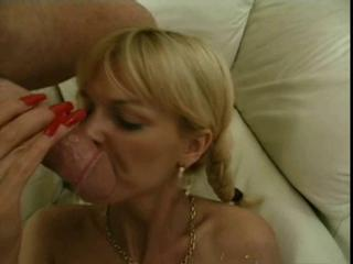 Lisa Crawford Long Red Nails Blowjob